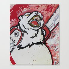 The Right To Bear Chainsaw Arms  Canvas Print