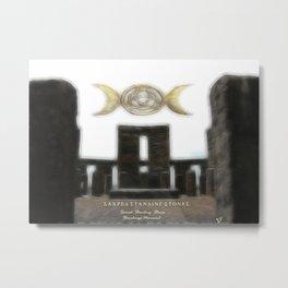 Sacred Standing Stones Metal Print