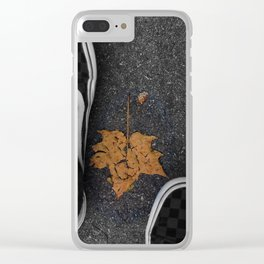 Open to Fall Clear iPhone Case
