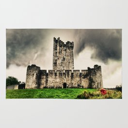 Ross Castle, Killarney National Park, Ireland. Rug