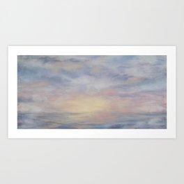 Clouded Sky Art Print