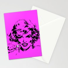 Diamonds are a girls best friend-Pink Stationery Cards