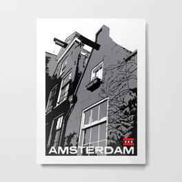 Amsterdam I Metal Print
