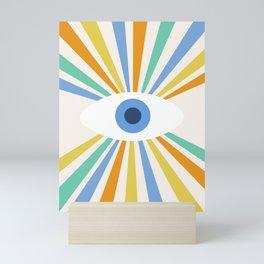 All Seeing Evil Eye Mini Art Print