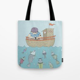 At The Sea Tote Bag
