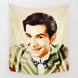 Anthony Perkins, Vintage Actor Wall Tapestry