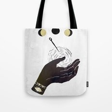 By The Pricking Of My Thumbs Tote Bag