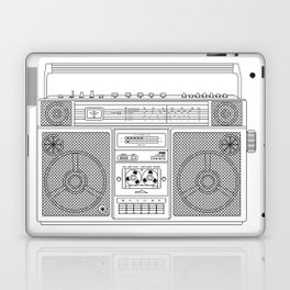 80s Boombox Laptop & iPad Skin