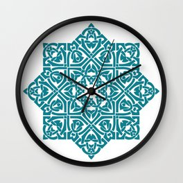 Celtic Knotwork Pattern Wall Clock