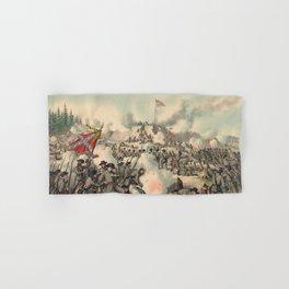 Civil War Assault on Fort Sanders Nov. 29 1863 Hand & Bath Towel