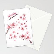 Sky blossoms Stationery Cards