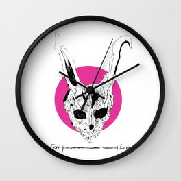 Donnie Darko macabre art Wall Clock