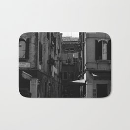 Calle Marcello b&w Bath Mat