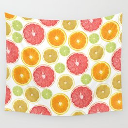 Citrus Love Wall Tapestry