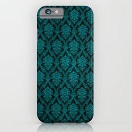 Teal Design iPhone Case