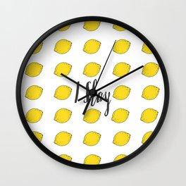 I Slay Wall Clock
