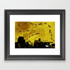 airplanes and cigarettes Framed Art Print