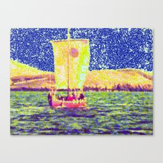 Sail Away Abstract Daydream Canvas Print