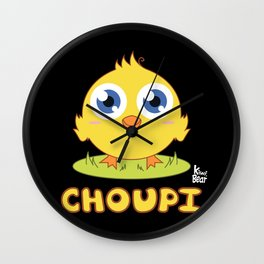 Choupi Chick Wall Clock