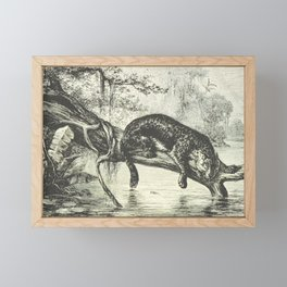 Jaguar Territory Framed Mini Art Print