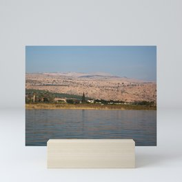 View from the Sea of Galilee  Mini Art Print