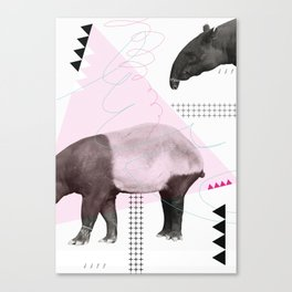 tapirism one Canvas Print