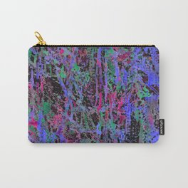 colourful splatters  Carry-All Pouch