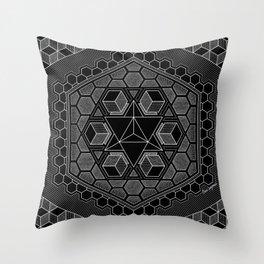 March Mandala 2018 Throw Pillow
