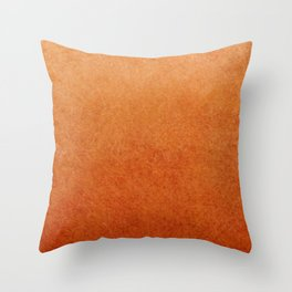 Brown Textured Ombre Abstract Throw Pillow