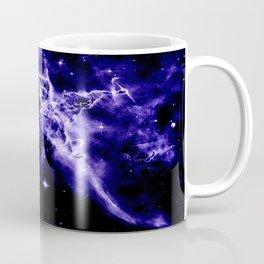 Violet Purple Galaxy Nebula Space Coffee Mug