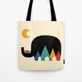 Dream In The Air Tote Bag