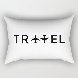 Travel and enjoy Rectangular Pillow
