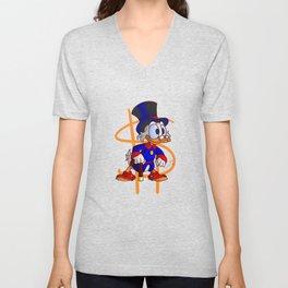 Uncle Scrooge - Ducktales Unisex V-Neck