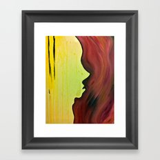a warm place Framed Art Print