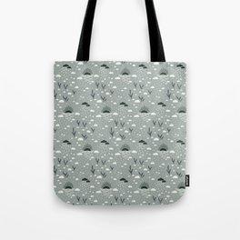 Little Sunsets - Grayish Green Tote Bag
