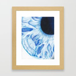 Close Up To Abstraction Framed Art Print