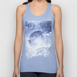 Even mountains get cold Unisex Tank Top