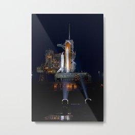 680. Space shuttle Atlantis Metal Print