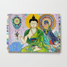 Buddha Freedom Nirvana Metal Print