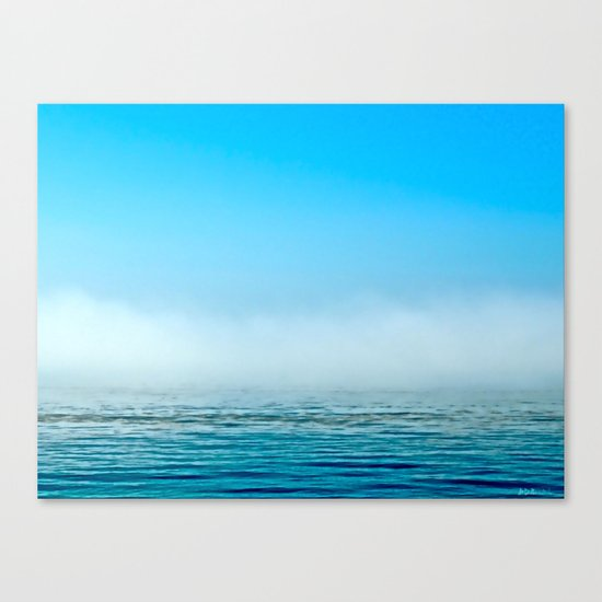 Misty Canvas Print