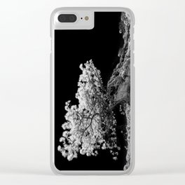 Infrared Torrey Pine Clear iPhone Case