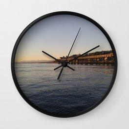 Campbell River Pier Wall Clock