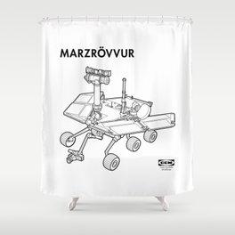 MARZRÖVVUR Shower Curtain