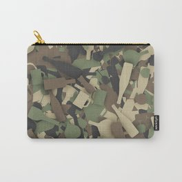 Forest alcohol camouflage Carry-All Pouch