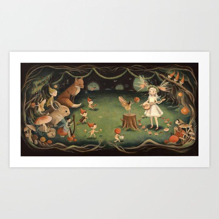 The Fairy Dream by Emily Winfield Martin Kunstdrucke