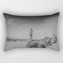 Nepali elephant Rectangular Pillow
