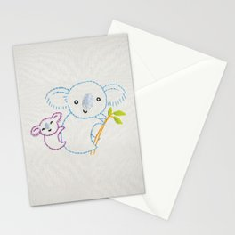 K Koala Stationery Cards