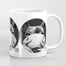 FRENCH BULLDOG FORNASETTI BOWL Coffee Mug