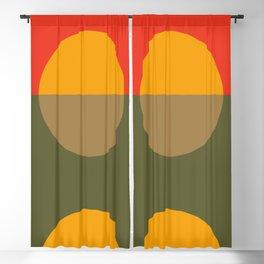 Spring- Pantone Warm color Blackout Curtain