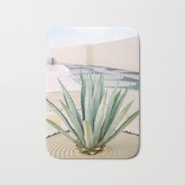 Agave plant in Mexico Bath Mat